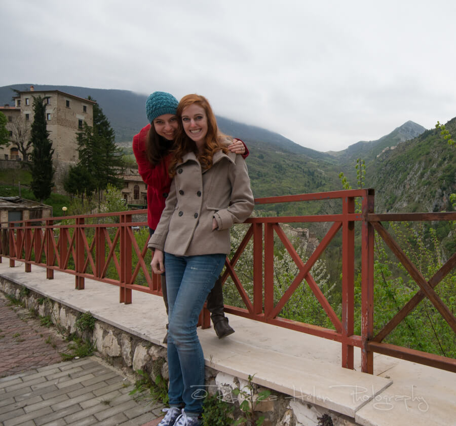 Becca and Valerie in Anversa