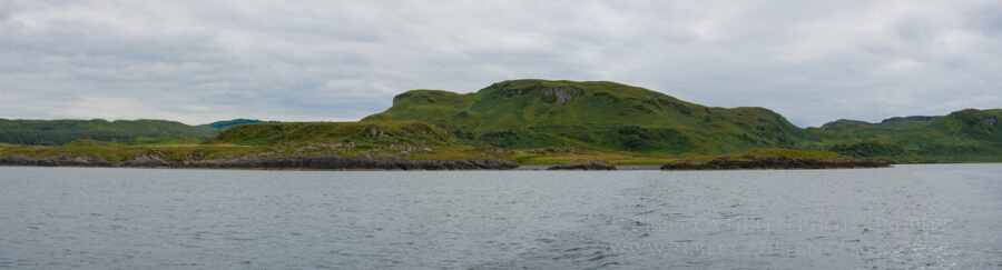Boat trip out to see the seals in Oban Scotland