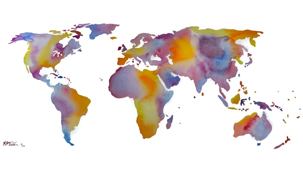 Watercolor World #2