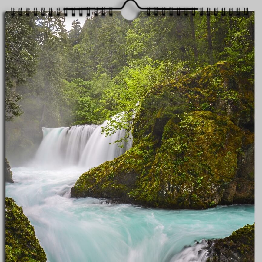 2018 Pacific Northwest Calendar