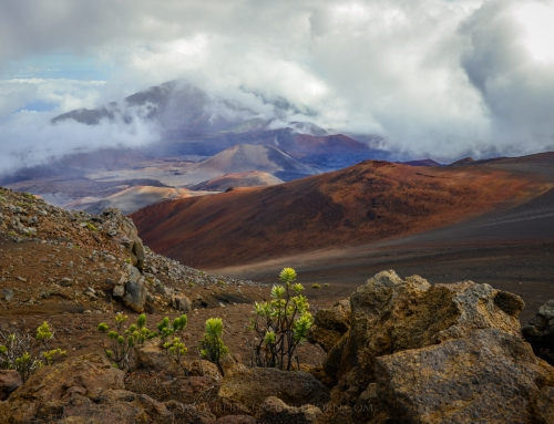 Haleakala in Clouds